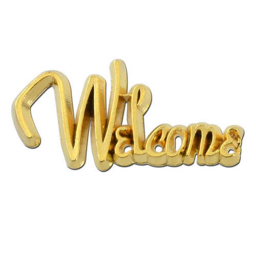 Welcome Lapel Pin