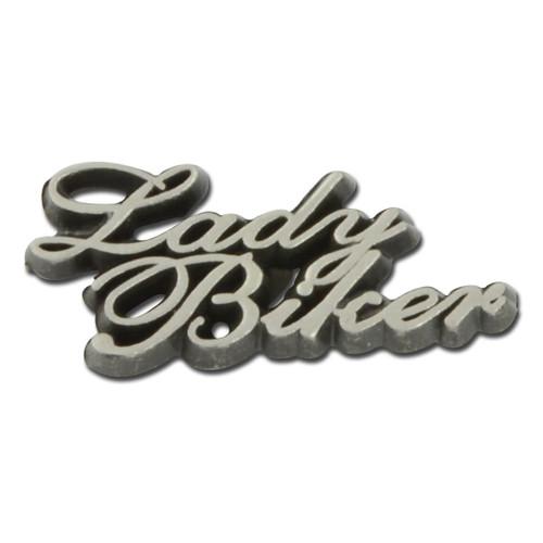 Lady Biker Pin