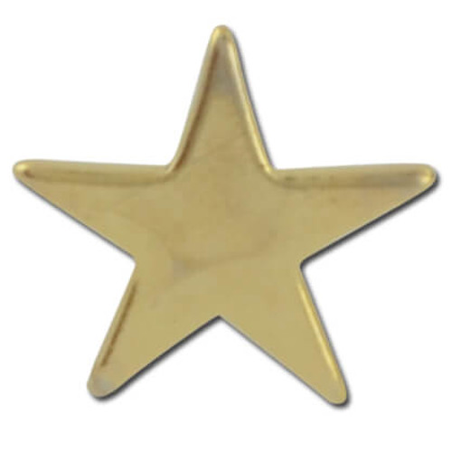 Star Flat 2 Lapel Pin