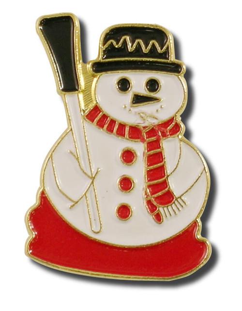 Snowman 3 Lapel Pin