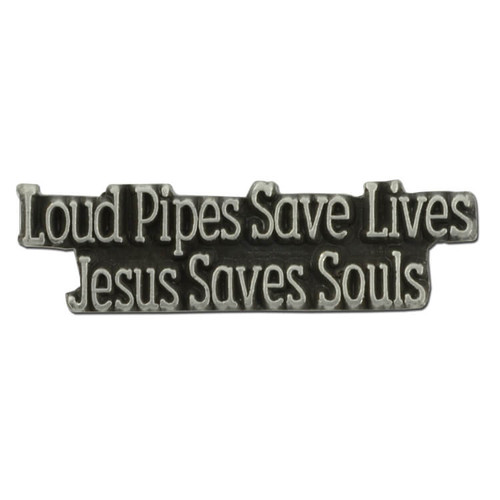 Jesus Saves Souls Pin