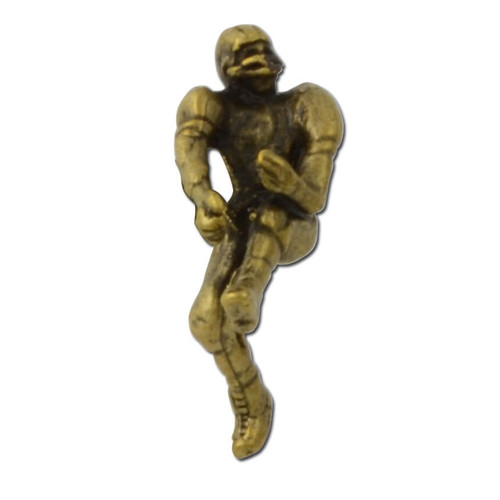 Football Player Lapel Pin
