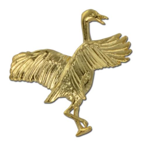 Crane Lapel Pin