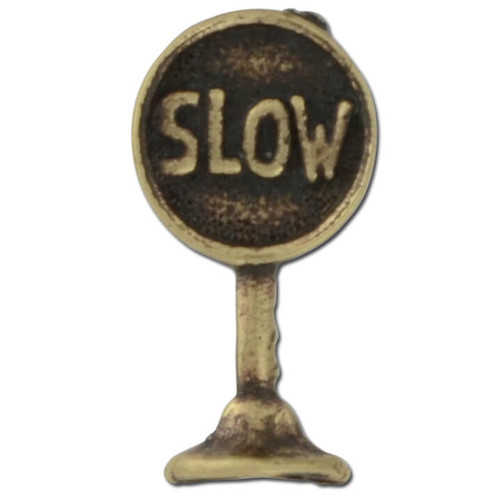 Slowsign Lapel Pin