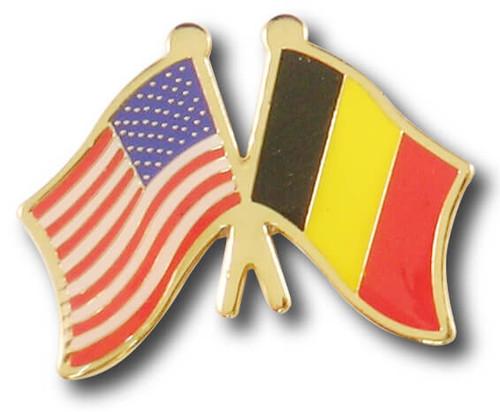 US / Belgium Flags