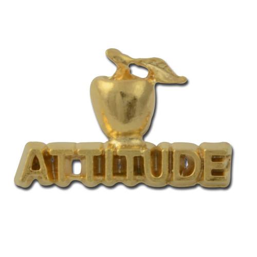 Attitude 2 Lapel Pin
