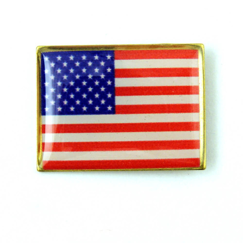 American Flag Pin Made in USA