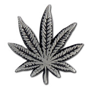Marijuana Leaf Lapel Pin