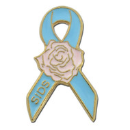 SIDS Awareness Rose Lapel Pin