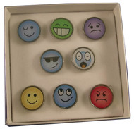 Emoticon Pin Set