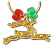 Reindeer Wine Charm Single