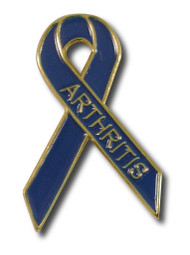 Arthritis Awareness Ribbon Pin