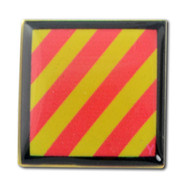 Nautical Code Flag Lapel Pin Y - Yankee