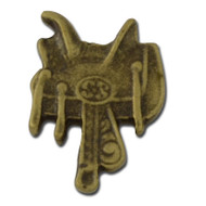Saddle Lapel Pin