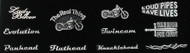 Motorcycle Assorted Pin Package #3B