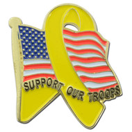 American Troop Support Pin