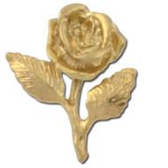 Rose 2 Lapel Pin