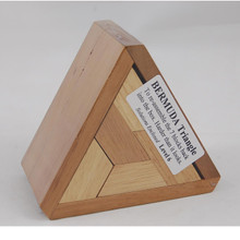 Triangle Wooden Puzzle for Adults