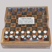 Wooden Mini Chess Board Game