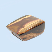 Purple Gidgee and Ebony Trinket Box made by John Tudehope. This rare Australian hardwood is sought after by woodworkers. A fine gift for keeping those precious pieces in. Handmade in Australia.