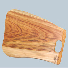 Australian Camphor Laurel Boards will not warp or crack. A medium density timber that will wear well and can be used for a full range of foodstuffs. Australian made.