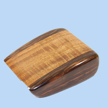 Silky Oak and Ebony Trinket Box. Australian made.