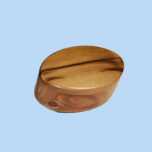 Oval Sassafras Trinket box. Australian made.