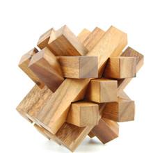 Wooden Brick Jumbo Puzzle