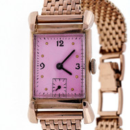 Academy Award Oscar 1949 Bulova 14k Pink Gold 21 Jewel 7AK Watch Ladies Men's