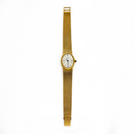 Ladies Bucherer 18k Yellow Gold Mesh Watch 1960 - 1970