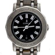 Ladies Corum Admirals Cup Wrist Watch Black Dial Quartz
