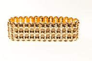 Estate 18k Pink Gold 1945 Retro Bracelet