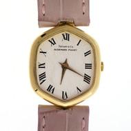 Ladies Audemars Piquet Tiffany 18k Yellow Gold 22 Jewel Watch