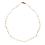 Vintage 1960 5.5 – 6mm Cultured Pearl 16 Inch 14k Necklace