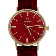Omega Seamaster Steel Gold Automatic Strap Wrist Watch LL 6066