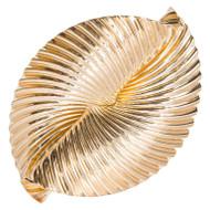 Vintage Swirl Ribbon Tiffany 14k Yellow Gold 1924 - 1950 Pin