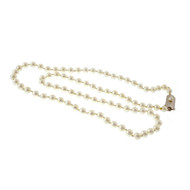 Mikimoto 20 Inch 5mm Cultured Pearl Necklace