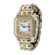Cartier Panthere 18k Steel 27mm Medium Quartz Wrist Watch