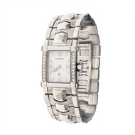 Ladies Charriol Watch With White Dial & Diamonds
