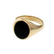 Vintage 1960 Larter & Sons Bloodstone Men's Ring 14k Gold