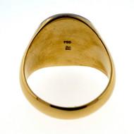 Vintage Mount Matterhorn 18k Gold Ring