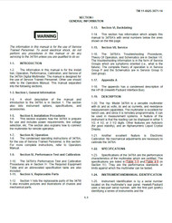 3478A Technical Manual | HP Agilent Keysight