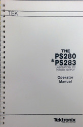 PS280 & PS283 Laboratory DC Power Supply, Operator Manual | Tektronix