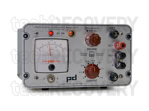Image of 2015R-Transistorized-Power-Supply-Power-Designs-Inc by TechRecovery