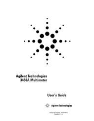 3458A Multimeter User's Guide | HP Agilent Keysight