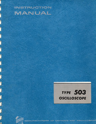 503 Oscilloscope, Instruction Manual | Tektronix