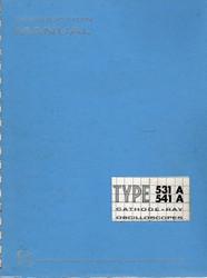 531A & 541A Cathode-Ray Oscilloscopes, Manual | Tektronix