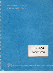 564 Oscilloscope, Instruction Manual | Tektronix