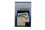 HP ColorPro Graphics Plotter Operating Manual