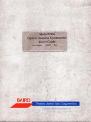 DV-6 Optical Emission Spectrometer, User's Guide | Baird